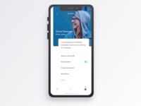 Givme - Profile settings