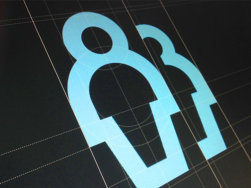 Icon Construction grid construction icon icon design design symbol pictogram geometric
