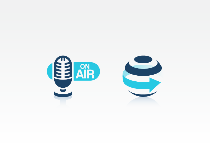 3Dimensional sodafish icons 3d design iconography microphone globe internet communication