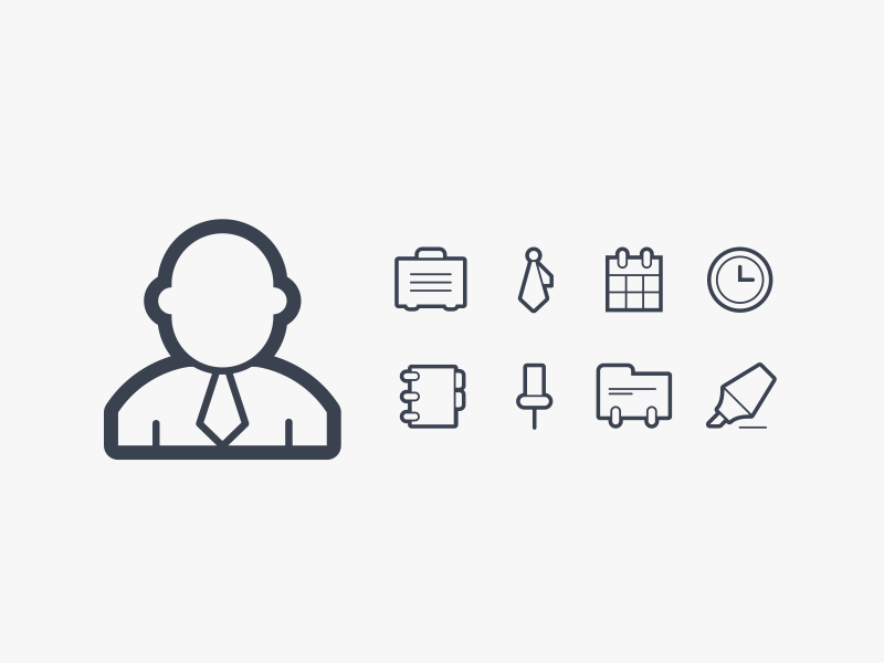 Linea Icons sodafish minimal line outline contour icon design design vector icons