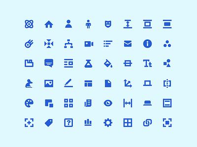 System Icons system design ui brand vector identity logo icon illustration
