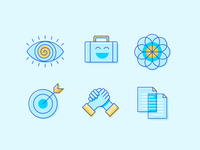 AI2 Illustrations Standard motif artificial intelligence brand vector identity logo icon illustration
