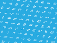 Oceanica, 120 Free Icons