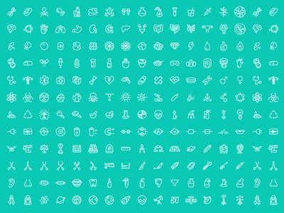 180 FREE Science Icons, Scientia