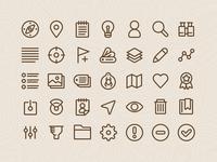 Geocaching - iOS Icons