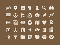 Geocaching - Android (Holo UI) Icons