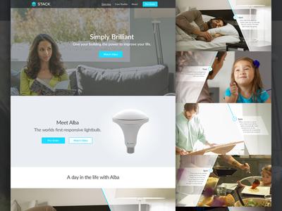 Stack Lighting Marketing Site