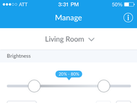 Stack lighting ios app manage