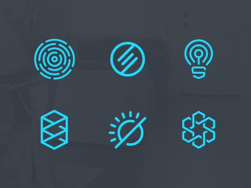 Forsaken Logo Marks logo identity brand illustration outline