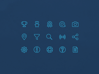 Shark Tracker - Minimal Icons