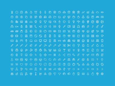280 Free Office/General Icons ui illustrator sketch hardware lifestyle finance icons free