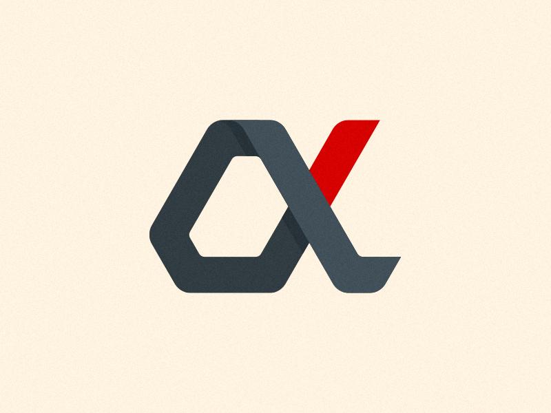 Alphateck Identity future technology scifi icon brand identity mark logo
