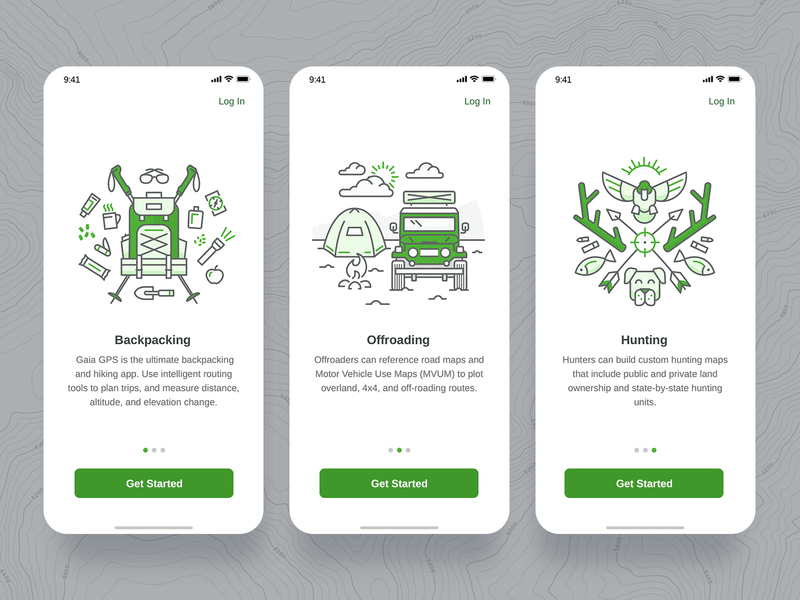 Mobile App Illustration Set