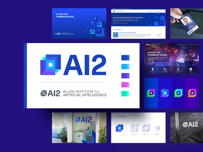 Datapoint Concept Presentation experiement science research artificial intelligence set presentation brand identity logo icon illustration