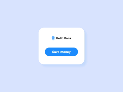 Save Money (Hello Bank)