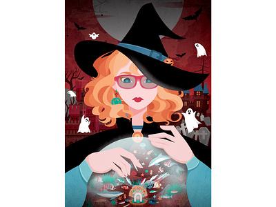 Halloween halloween drawing digitalart illustration