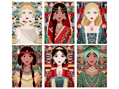 Multi-Cultural 1 culture drawing digitalart illustration