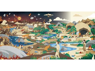 Hi, world-7 book children book story digitalart illustration
