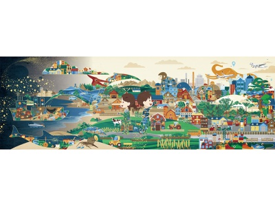 Hi, world-9 book children book story digitalart illustration