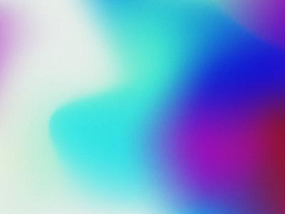 Color Study branding teal organic bright gradient mesh color study color gradient