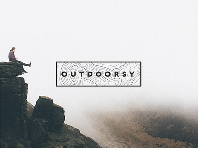 Outdoorsy Branding travel adventure outdoors wanderlust outdoorsy branding logo outside mountains hiking camping web design