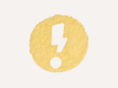 ICS Logo studio promo holiday card yellow mustard design studio bolt logo