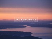 Outdoorsy Brand Identity