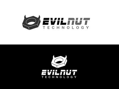 Evilnut Logo English version