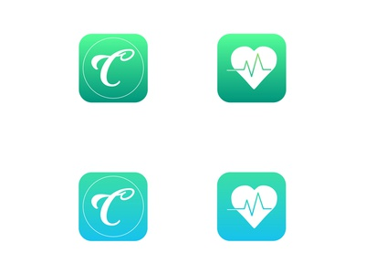 Health App Icon Concepts