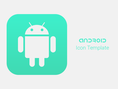 Android Icon Template [FREEBIE] by Alex Miller - Dribbble
