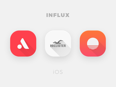 Influx for Ios theme jailbreak ios icons influx