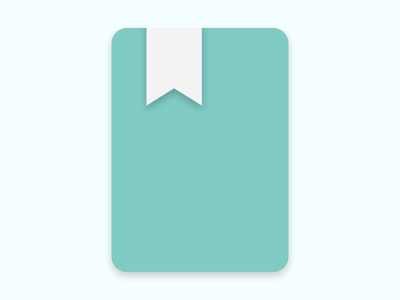 Daily UI #005 - App Icon app icon teal challenge daily journal dailyui
