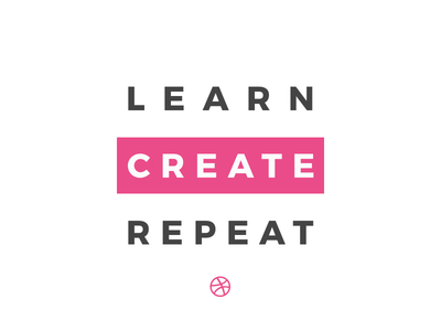 Learn Create Repeat