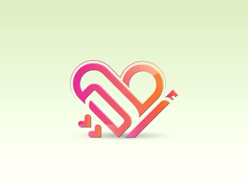 My Mother❤️ typography brand logo