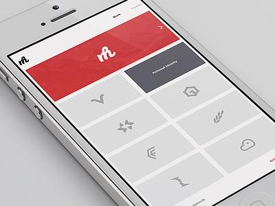 Portfolio Redesign responsive minimalistic redesign desktop mobile web