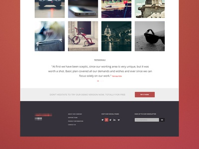 Homepage + gif