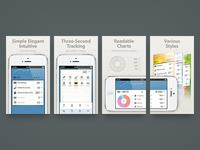 DailyCost App Store Screenshots