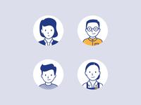 User personas character illustration illustrator character design persona