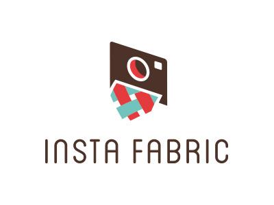 Instafabric logo camera fabric