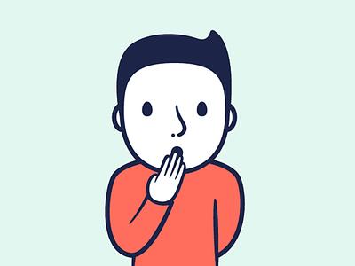Barnabé character illustrator vector illustration