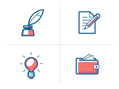 Icons for medical app icons