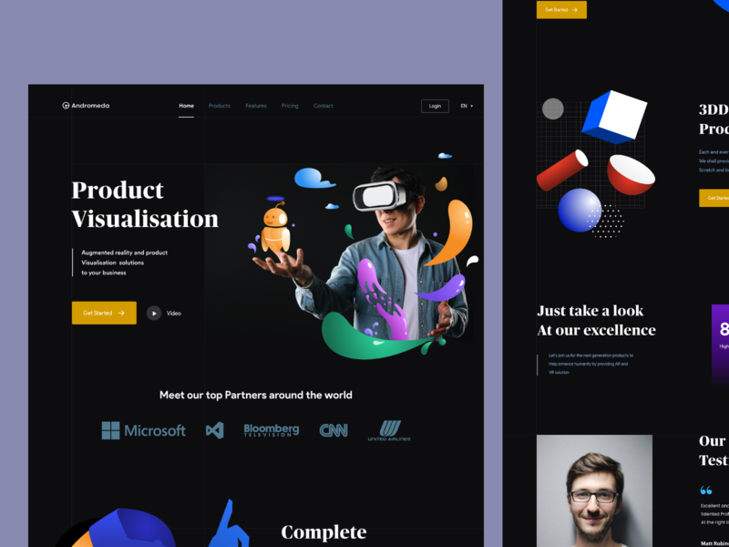 Product Visualisation 3d art virtual reality profile page product design visual design branding typography vector augmented reality virtualreality sudhan app design mobile illustration