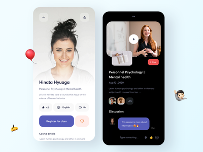 Learning app | Mentor typo profile attachment naruto love time english psychology mental live conversation letter education video sudhan branding typography design business leaning