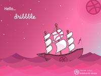 Hello.....Dribbble