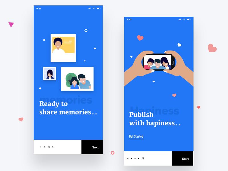 gallery app onboarding selfie android ios onbording app gallery sudhan picture