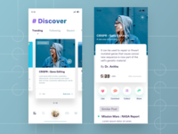 Discover app exploring