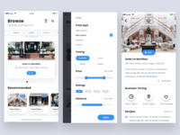 food & restaurant app exploration