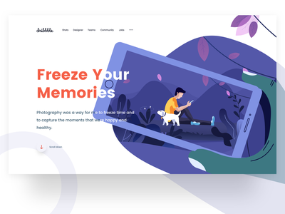 freeze your memories music trees shelfworthy freeze mobile memories web design ps sudhan illustration