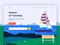 traveling web