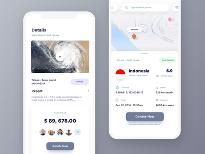 disaster management app exploration donatello nasa donate richter ps iphone dribbble earthquake fund mobile drawing cyclops cyclone app disaster